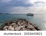 Beautiful Adriatic Sea Off The...