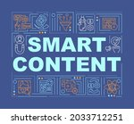 smart content word concepts...