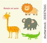 ector illustration of different ...   Shutterstock .eps vector #203374261