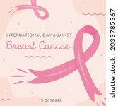 international day against... | Shutterstock .eps vector #2033785367