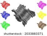neumarkt district  federal... | Shutterstock .eps vector #2033883371