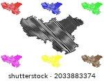 neunkirchen district  federal... | Shutterstock .eps vector #2033883374