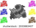 nordhausen district  federal... | Shutterstock .eps vector #2033883407
