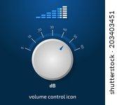 clean 3d volume control design. ...