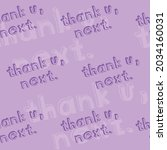 vector of thank you  next text  ... | Shutterstock .eps vector #2034160031