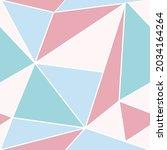vector of pastel coloured... | Shutterstock .eps vector #2034164264