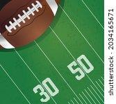 vector of american football... | Shutterstock .eps vector #2034165671
