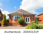 traditional bungalow house | Shutterstock . vector #203421319