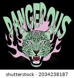 vintage leopard head...   Shutterstock .eps vector #2034238187