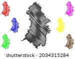 oberhavel district  federal... | Shutterstock .eps vector #2034315284