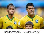 ������, ������: Neymar and Hulk of