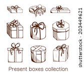 present boxes collection....