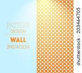 vintage colorful backdrop | Shutterstock .eps vector #203464705