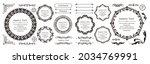 elegant design element set.... | Shutterstock .eps vector #2034769991