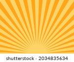 sunlight rays horizontal...   Shutterstock .eps vector #2034835634