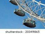 London\'s Millennium Wheel Detail