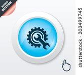 repair tool sign icon. service...