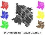 ostprignitz ruppin district ... | Shutterstock .eps vector #2035022534