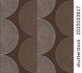 seamless geometric pattern.... | Shutterstock .eps vector #2035033817