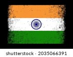 grunge distressed flag of india.   Shutterstock .eps vector #2035066391
