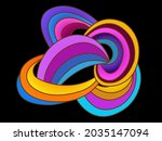 abstract background of mutually ...   Shutterstock .eps vector #2035147094