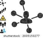 triangle social links polygonal ...   Shutterstock .eps vector #2035153277