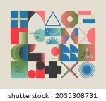 generative design artwork... | Shutterstock .eps vector #2035308731