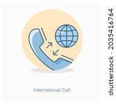 international call or telephone ...