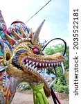 The Head Of The Dragon Statue...