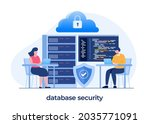 database programmer concept ...