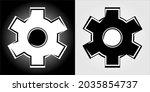 vector icon for settings or...   Shutterstock .eps vector #2035854737
