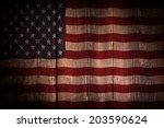 American Flag. An American Flag ...