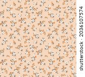 ditsies floral pattern. pretty... | Shutterstock .eps vector #2036107574