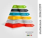 modern infographics banner | Shutterstock .eps vector #203615599
