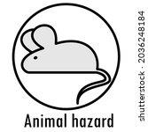 danger icon. warning danger...   Shutterstock .eps vector #2036248184