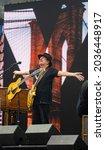 Carlos Santana Takes A Moment...