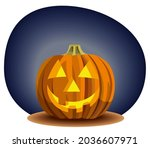 jack's lantern. halloween... | Shutterstock .eps vector #2036607971