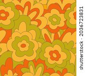 groove seamless pattern in 70s...   Shutterstock .eps vector #2036723831