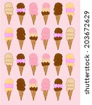 art,artistic,ball,cheerful,cherry,chocolate,cold,collection,color,colorful,cone,cranberry,cream,cup,cute