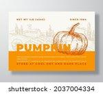 pumpkin label template.... | Shutterstock .eps vector #2037004334