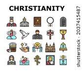 christianity religion church... | Shutterstock .eps vector #2037415487