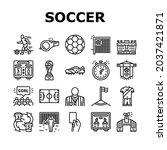 soccer team sport game on...   Shutterstock .eps vector #2037421871
