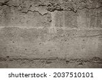 the texture of old concrete ... | Shutterstock . vector #2037510101