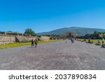 Teotihuaca N  Mexico   August...