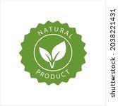 natural organic ingredients... | Shutterstock .eps vector #2038221431