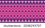 seamless vector border pattern. ...   Shutterstock .eps vector #2038293707
