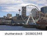 Seattle Waterfront  Usa