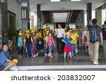 saigon   december 29  pioneers... | Shutterstock . vector #203832007