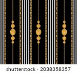 seamless pattern decorated with ... | Shutterstock .eps vector #2038358357