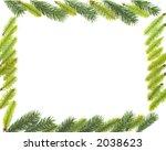 christmas frame | Shutterstock . vector #2038623